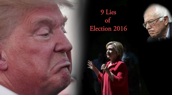 Only One Candidate is Flawed & 9 Other Lies of Election 2016 | Trump v. Clinton on Blog#42